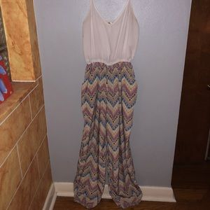 Pants - Multicolor jumpsuit MEDIUM